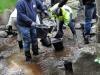 Biotopvård för fisk: restaurera lekplats för öring